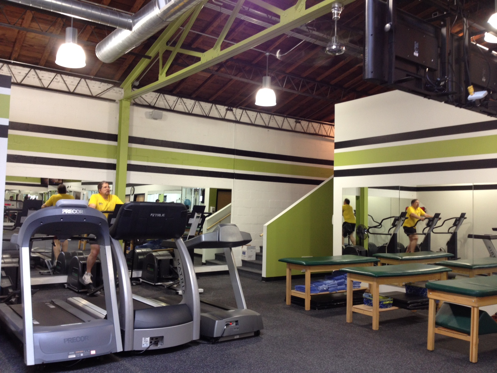 Amazing Fitness Plus New Gym » Fitness Plus. Showing Off The New Decor.