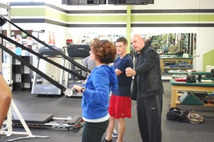 John Stuef founder of Strong Over 50 program trains Fitness Plus personal trainers in Lexington KY