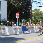 The biking leg of Ironman Louisville 2013