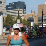 Triathlete and Ironman Amy Ball, personal trainer at Fitness Plus in Lexington, KY.